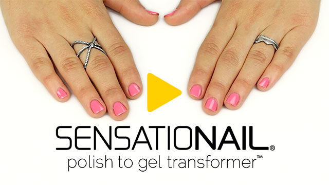 Sensational: Transform Any Nail Polish To Gel! Sensationail Polish To Gel Transformation